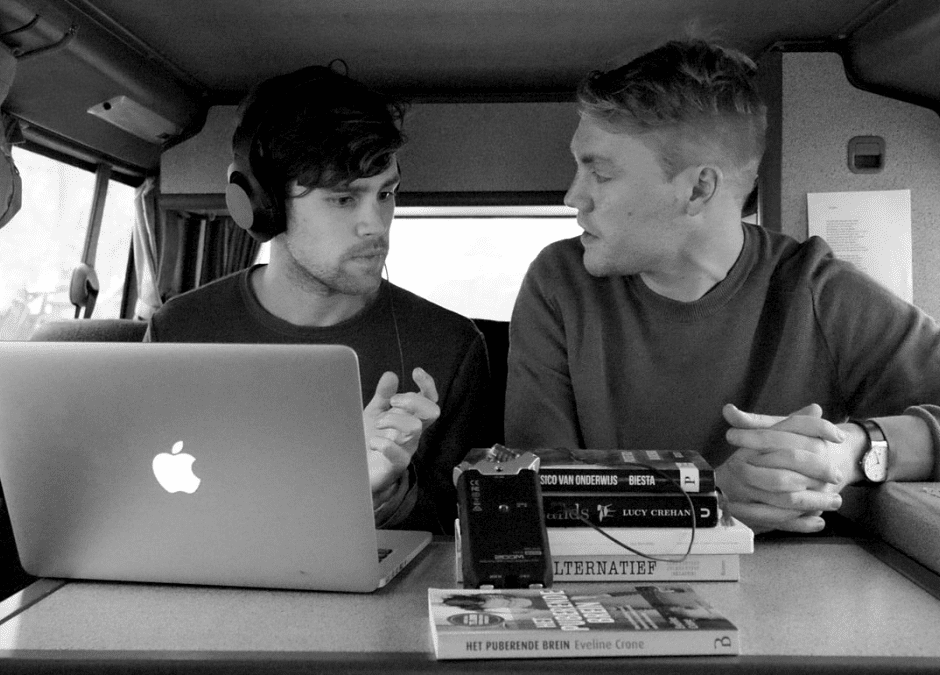 Erik and Luuk travel the world to find the best education there is